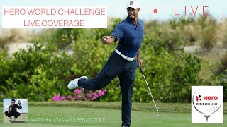HERO WORLD CHALLENGE FULL ROUND 1 LIVE STREAM REACTION! Me watching Tiger Woods return to golf!