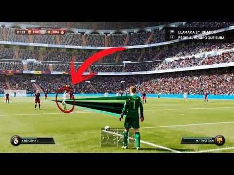 REACCIONANDO A BUGS Y FAILS DE FIFA 17 😂😂