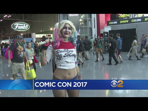 Fans Flock To Javits Center For Comic Con