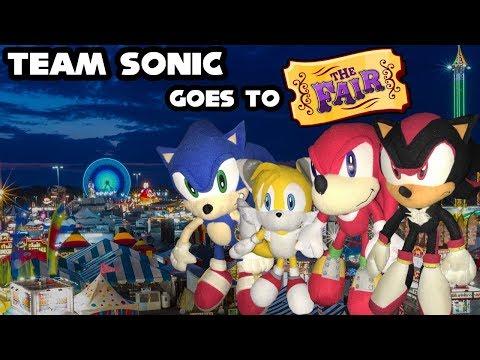 Sonic Plush Adventures - Team Sonic Goes To The Fair!