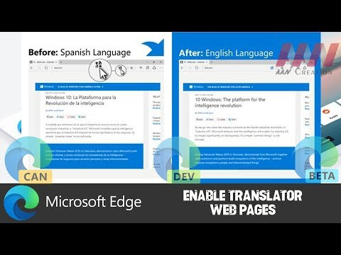 How to Enable Translator on Chromium Version of Microsoft Edge