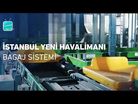 İstanbul Yeni Havalimanı Bagaj Sistemi | İstanbul New Airport Baggage Handling System