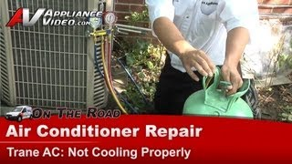 Air Conditioner Repair - Not Cooling Properly - Repair & diagnostic