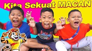 Drama Praya Sekolah dan Bermain Ditemani Susu Milkuat | Semangat Energi Sekuat Macan