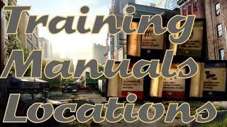 The Last of Us - Training Manual Locations