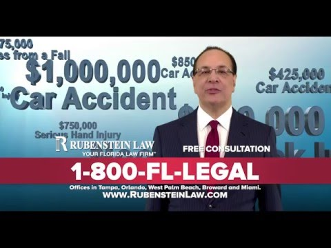 FREE CONSULTATION!  Rubenstein Law 1-800-FL-LEGAL (Tampa Bay FL)