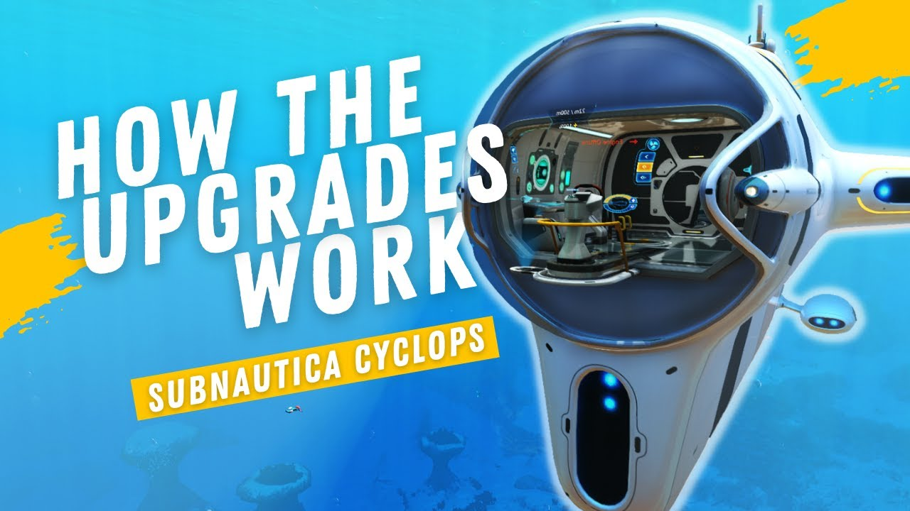 Scanner Room Upgrades Guide Subnautica Tips Tricks Youtube Contribute to primesonic/primesonicsubnauticamods provides the framework to expand the cyclops with lots of new upgrades and more upgrade consoles to fit databoxscannerfix. scanner room upgrades guide