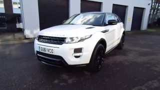 Land Rover Evoque Black Design Pack 2014 Videos