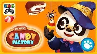 Dr. Panda и его конфетная фабрика - Доктор Панда готовит сладости на Хэллоуин