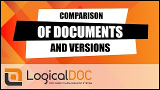Compare two documents in LogicalDOC