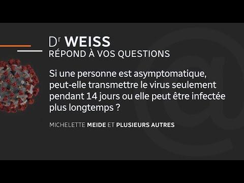 Le point sur le coronavirus avec Dr Weiss - 23 avril 2020