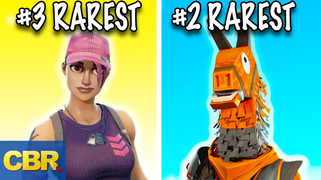 The 20 Rarest Fortnite Skins And Cosmetics You For Sure Don T Have