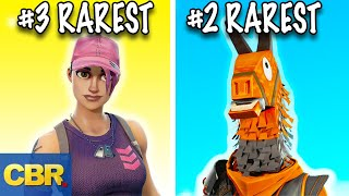 The 20 Rarest Fortnite Skins And Cosmetics You For Sure Don't Have