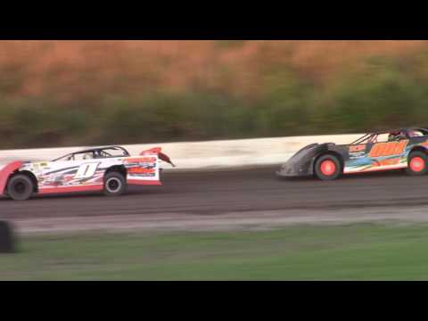 Genesee Speedway 360 Late Model Feature 7-8-17