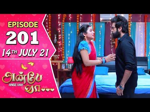 Anbe Vaa Serial | Episode 201 | 14th July 2021 | Virat | Delna Davis | Saregama TV Shows Tamil