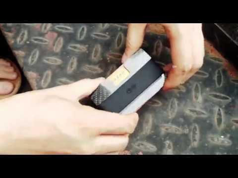 Fabolouz Real Carbon Fiber Anti-Malignant Scan Proficient Slim Card Holder Money Bill Clip