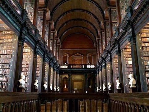 Gente di Dublino - Trinity College, tour delle librerie #Vlogtober