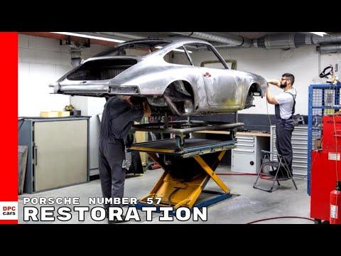 Porsche 911 901 Number 57 Restoration