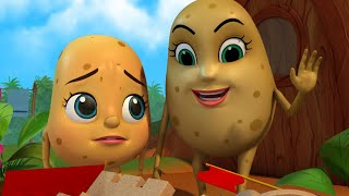 Aloo Kachaloo - Yeh Castle Hai Kitna Shandar   Hindi Rhymes for Children   Infobells