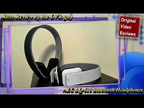 Item review - AEC BQ-618 Bluetooth Headphones