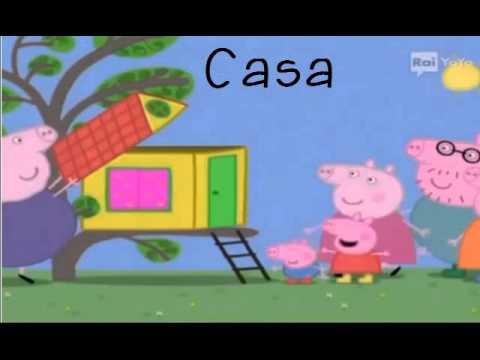 A-B-C-D-E Alfabeto italiano con Peppa Pig ed i suoi amici
