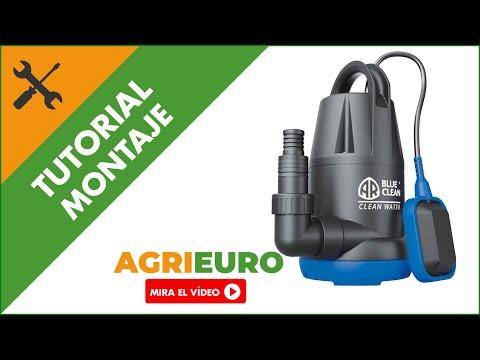 Montaje Bomba sumergible eléctrica Annovi & Reverberi ARUP 250PC