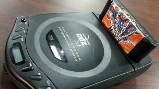 Classic Game Room - SEGA GENESIS CDX console review