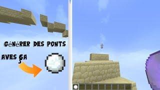 [Minecraft] Générérer un Pont avec une boule de neige   Tuto