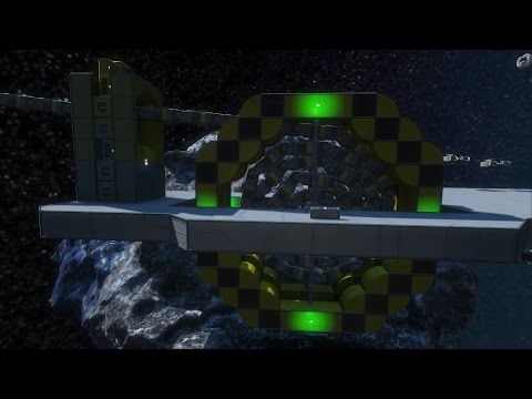 Space Engineers - Conveyor cable concept
