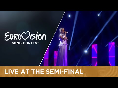 Gabriela Gunčíková - I Stand (Czech Republic) Live at Semi - Final 1