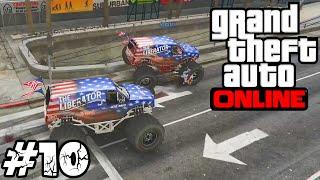 [LUŹNE GRANIE] GTA V Online #10 - Brutalne wyścigi! (With: Max) /Zagrajmy w