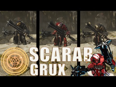 Grux All Scarab Skins Spotlight - Paragon