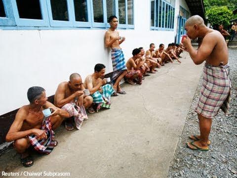 Thai Monastery Runs Drug Rehab Program
