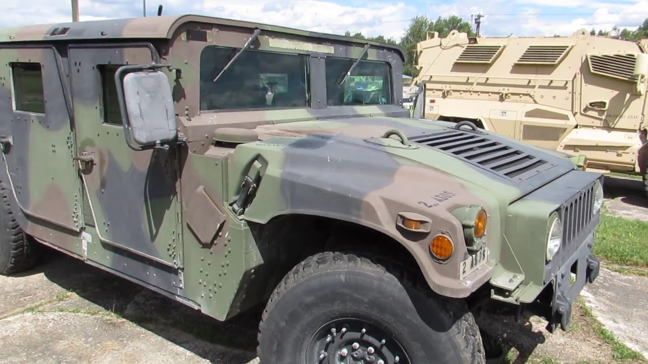 walkaround us army air force humvee hummer h1 youtube. Black Bedroom Furniture Sets. Home Design Ideas