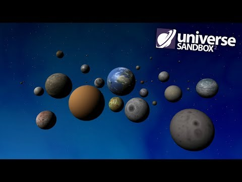 What If Earth Had Every Moon In The Solar System, Universe Sandbox2