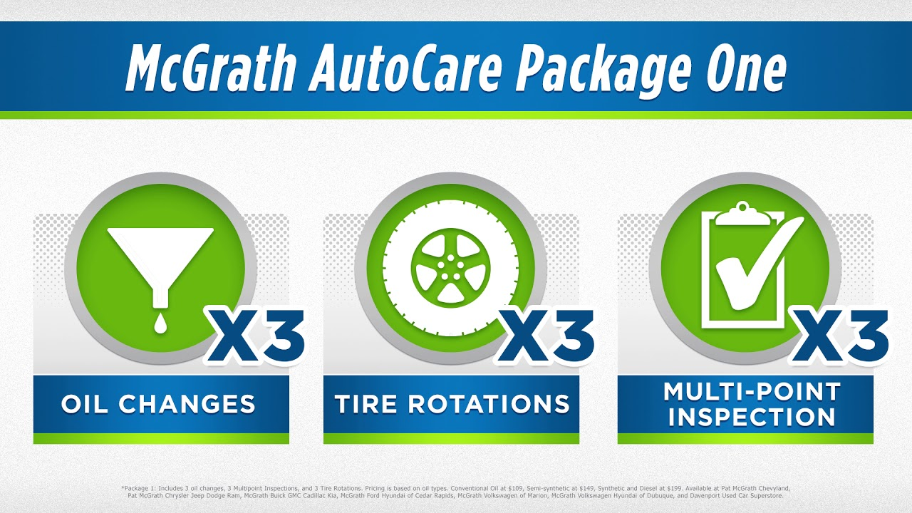 Pat Mcgrath Cedar Rapids >> Auto Service Discount Package Mcgrath Auto Care Cedar
