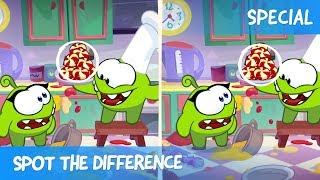 Spot the Difference Ep. 30 - Om Nom Stories: Cooking Time