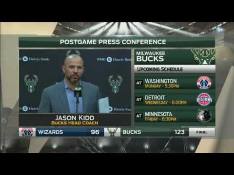 Bucks' Kidd on win over Wizards: 'Yeah, it was alright'