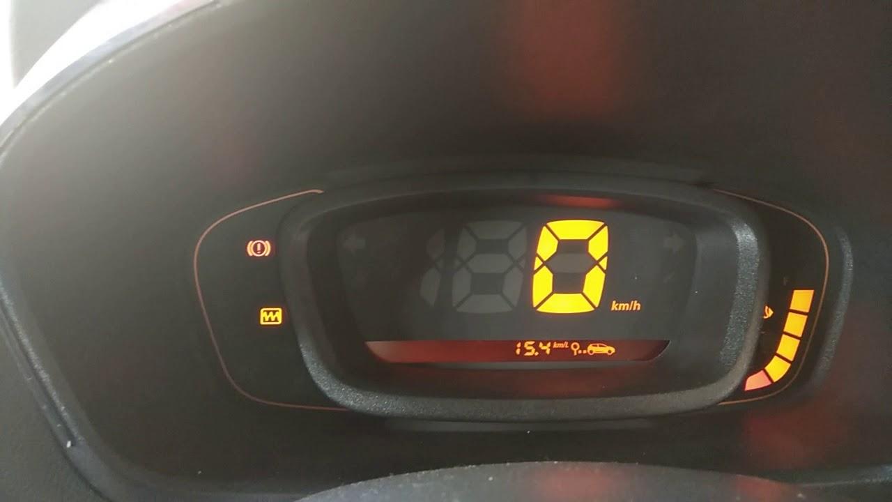 Renault Kwid Malfunction Light Youtube