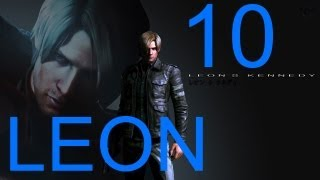 Resident Evil 6 walkthrough - part 10 HD Leon walkthrough gameplay RE6 Full Game walkthrough