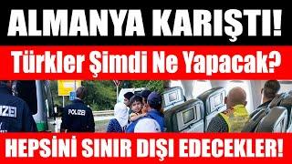 Almanya sınır dışı KARARI ALDI! Kimler uçağa bindirilip Türkiye'ye gönderilecek? Canlı Yayın