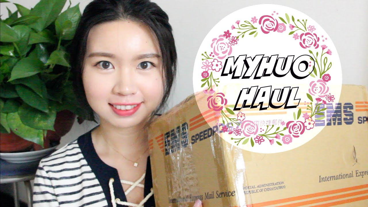 Josie | Myhuo.net Haul Unboxing | 買貨網購物分享 | 開箱 85折 - YouTube