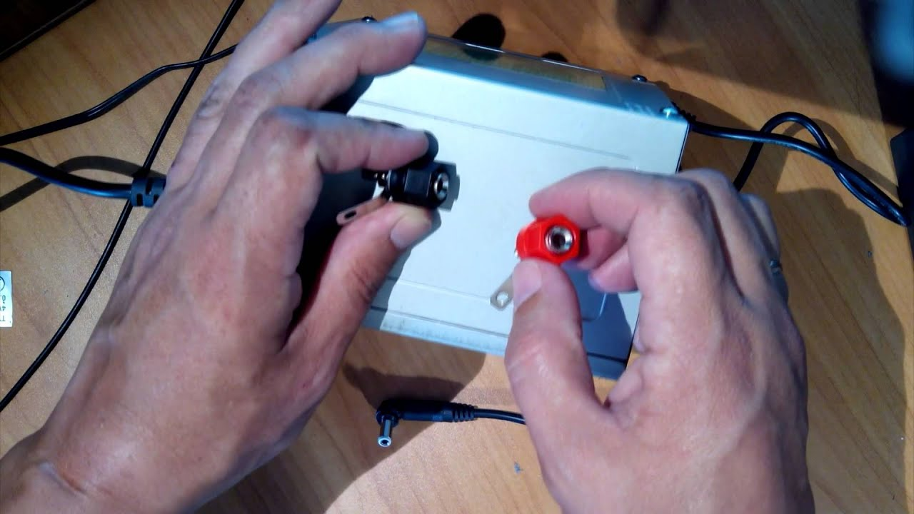 схема зарядного устройства из блока питания ат