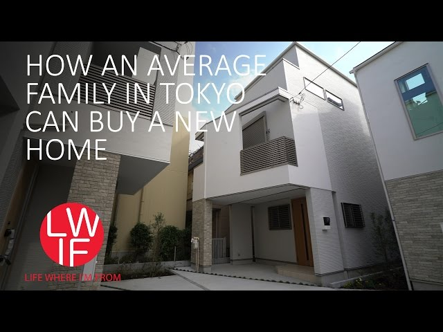 How an Average Family in Tokyo Can Buy a New Home