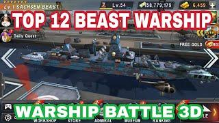 Warship Battle- TOP 12 BATTLE SHIP IN WARSHIP BATTLE, BEST WARSHIP