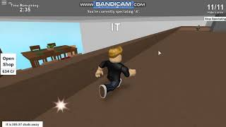 RAPIDO like writing in chat at Hide and Seek Extreme (roblox) credits to wombat xd