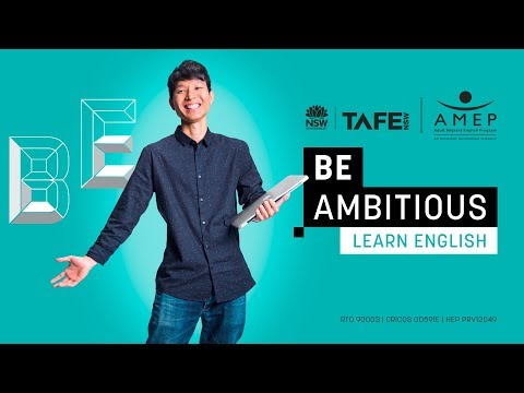 Learn English With TAFE NSW And AMEP