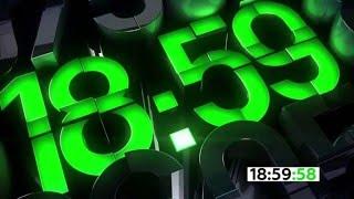 Скачать Часы телеканала НТВ 18 59 перед программой Сегодня 2016 н в