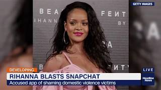 Snapchat stock loses $800M after Rihanna responds to offensive ad