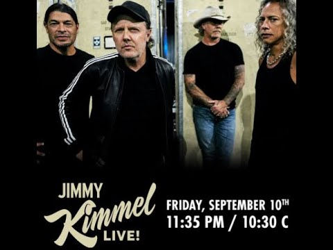 Metallica to perform on 'Jimmy Kimmel Live!' as new Black Album box set out soon!